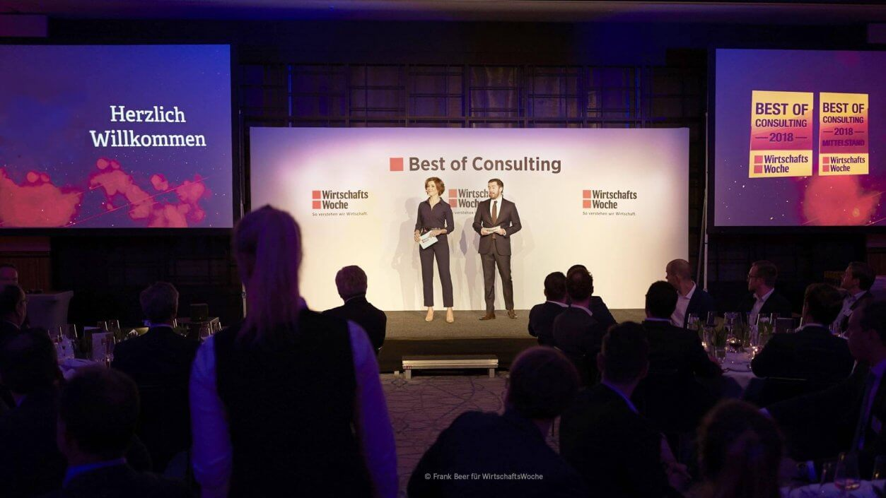 Virtual Retail Lab gewinnt bei Best of Consulting 2018