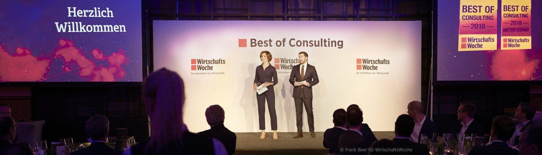 Mercedes-Benz Consulting gewinnt bei Best of Consulting 2018