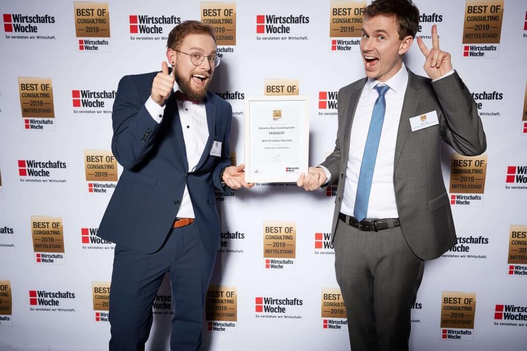 Auszeichnung Best of Consulting